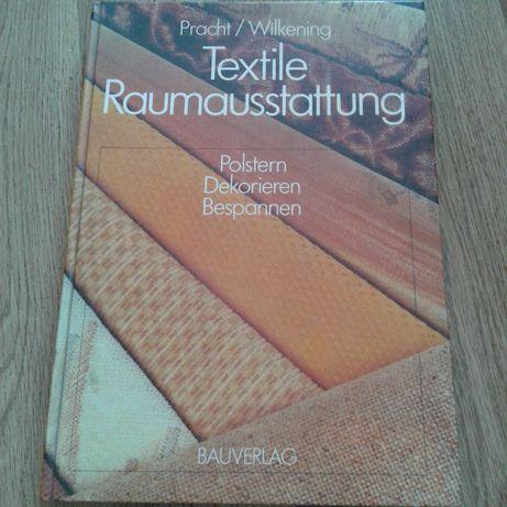 Tekstylia - robienie mebli i tym podobne- książka po niemiecku