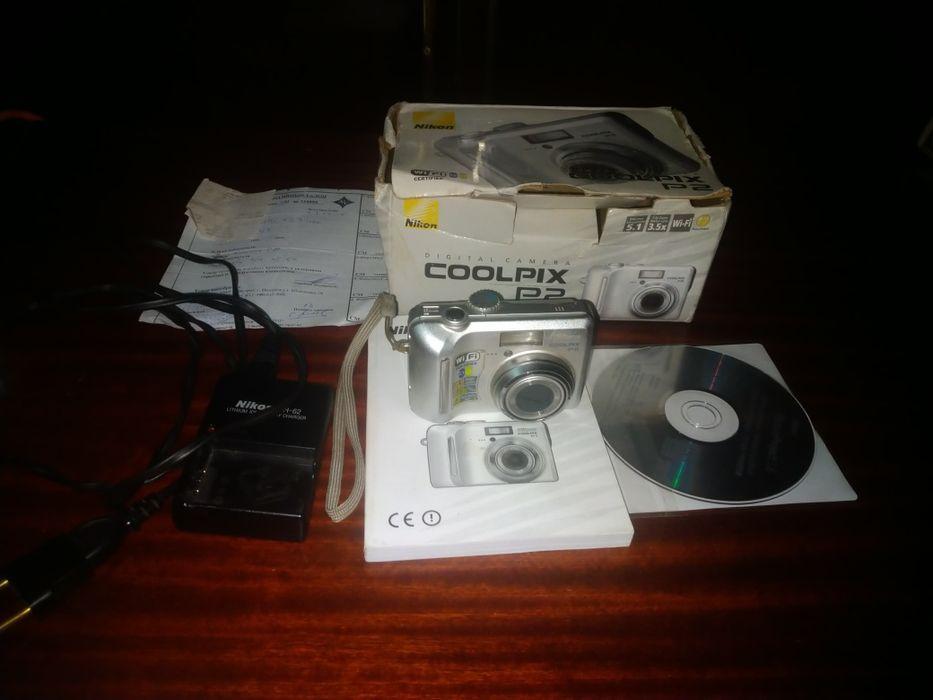 Цифровой японский фотоаппарат Nikon Coolpix P-2 Лубны - изображение 1