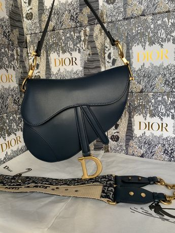 Torebka Dior Saddle Dark Blue Top Quality