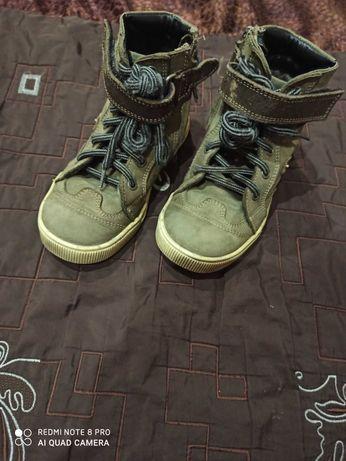 Демисезонные ботинки kemal pafi ( Турция) для мальчика, р-р 29