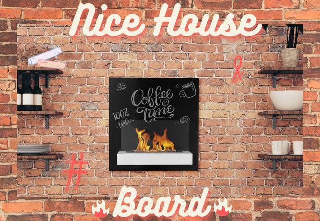 Біокамін Nice House Board 47x46см зі склом !!! НОВИНКА ОСЕНІ !!!