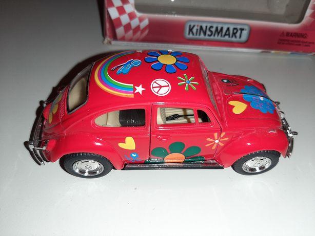 Zabawkowy samochodzik kinsmart volkswagen classical beetle