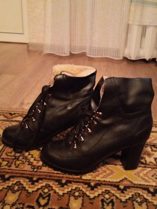 Зимние ботинки/ботильоны на шнуровке Одесса - изображение 1