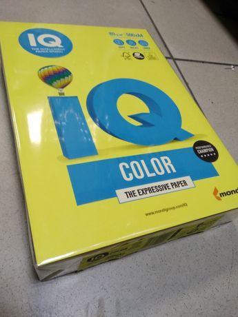 Бумага офисная цветная А4 (жёлтая) 500 л/уп. для принтеров/ксероксов