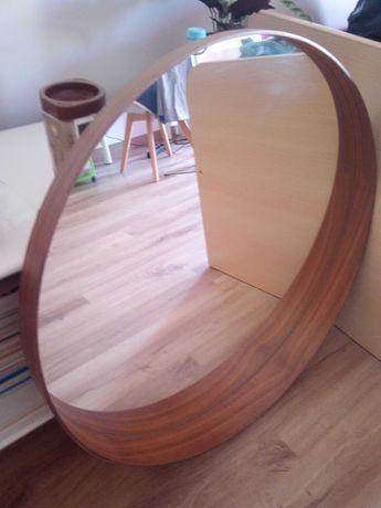 Espelho IKEA 80cm em chapa de nogueira
