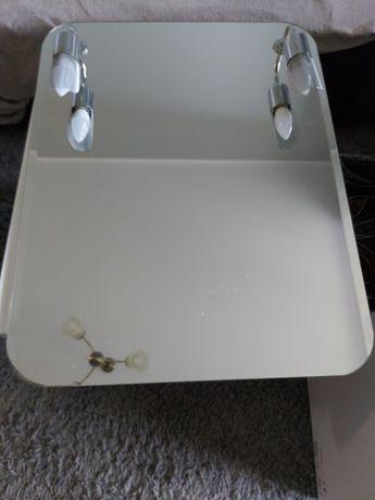 Lustro łazienkowe z oświetleniem Dubiel Vitrum
