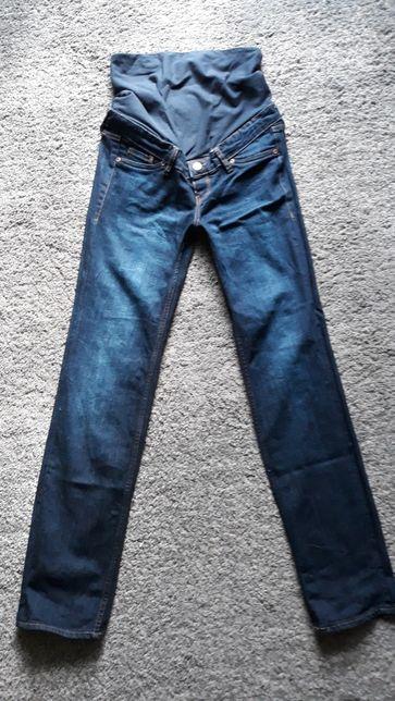 Spodnie ciążowe jeans HM mama rozm. 34
