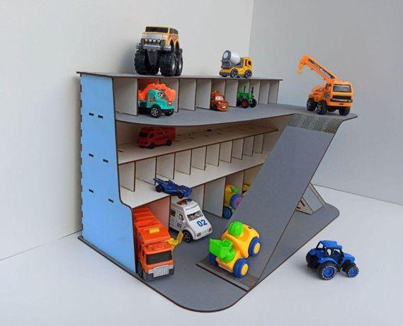 Цветной Паркинг-гараж, Гараж для детских машинок, Детский Автопаркинг