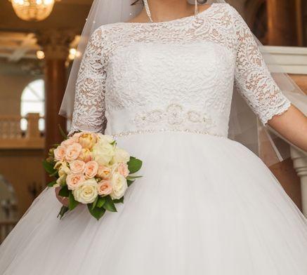 Шикарное свадебное платье для Королевы - возможен прокат