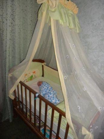 Постельный комплект(белье, набор,балдахин) детский- держатель в подаро