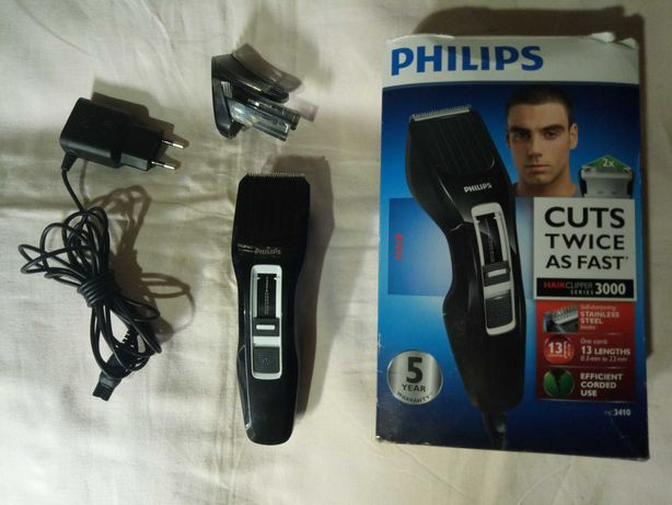 Машинка для стрижки волос (триммер) Phillips HC3410.