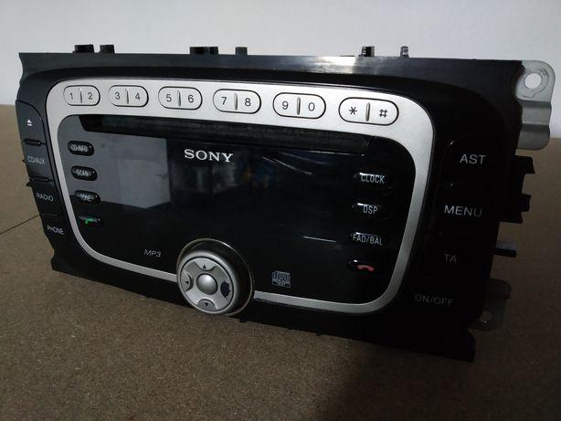 Rádio Sony Ford Focus Mondeo S-Max