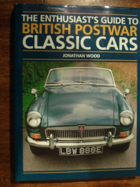 """Livro """"The enthusiast's guide to british postwar classic cars"""""""