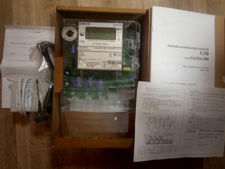 GAMA 300 + GSM modem Трехфазные НОВЫЕ счетчики для зелёного тарифа
