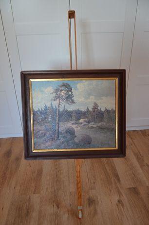 Obraz malowany na płótnie ze Szwcji.
