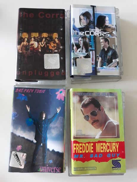 Zestaw kaset magnetofonowych audio