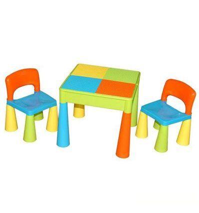 Оригинальный столик и стулья Tega Baby Mamut.Тега мамут. Tega mamut