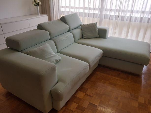 Sofá com chaise longue order made