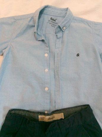 Calções e camisa, 5-6 anos