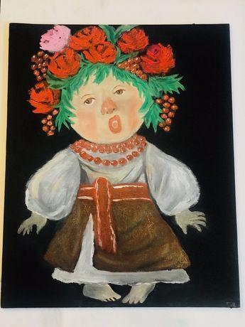 Картина копии Гарчинской « Хор им. Веревки»