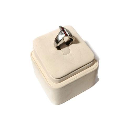 Wyrób jubilerski używany - srebrny pierścionek