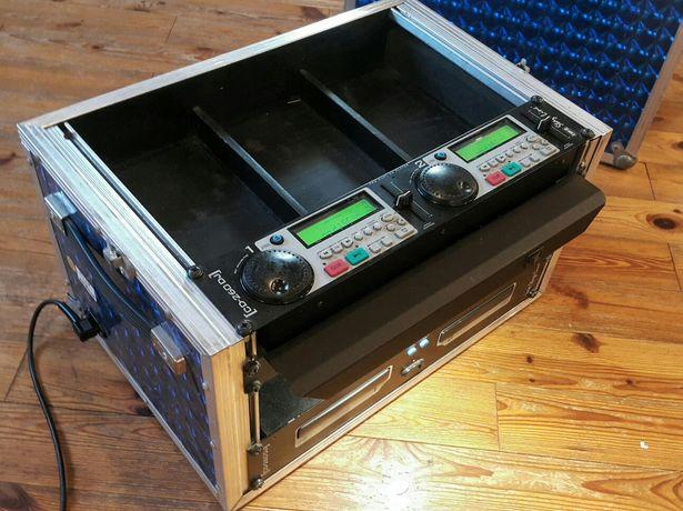 podwójny CDJ + Case, sprzęt dla Dj'a IMG Stage Line CD-260DJ