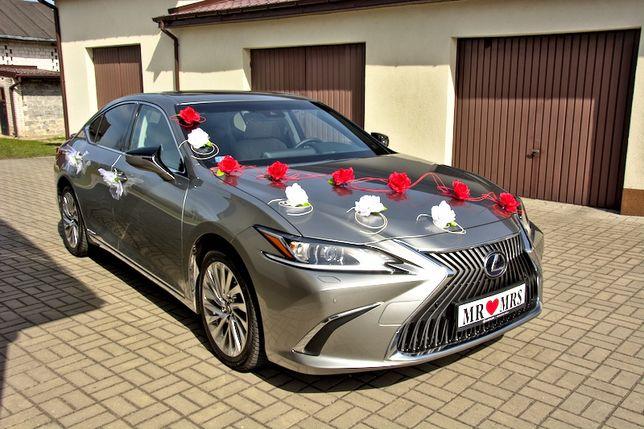 Auto do ślubu Lexus ES 300h 2021r.