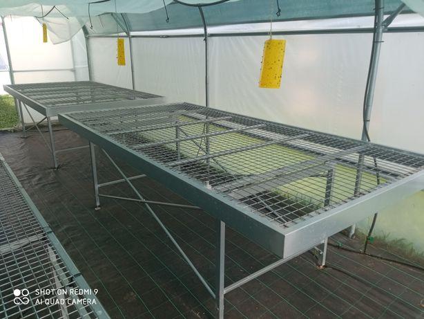 Mesas de estufa/viveiro