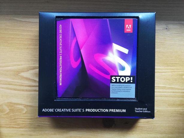 Adobe Creative Suite 5 Production Premium CS5 MAC OSX Student&Teacher