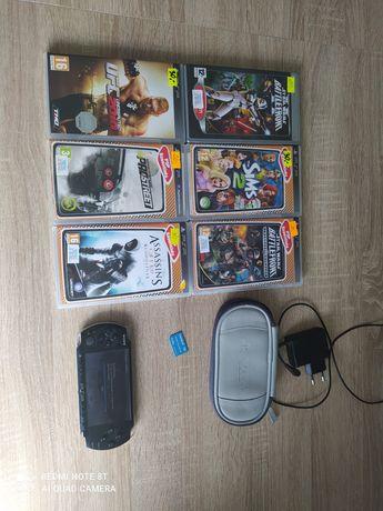 PSP MODEL 3004 Sprawny 100% komplet z grami