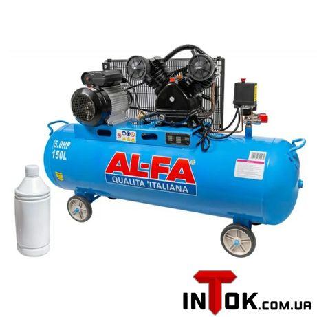 Компрессор AL-FA ALC150-2 (3.8кВт , 740 л/мин) Гарантия 1 год!!!