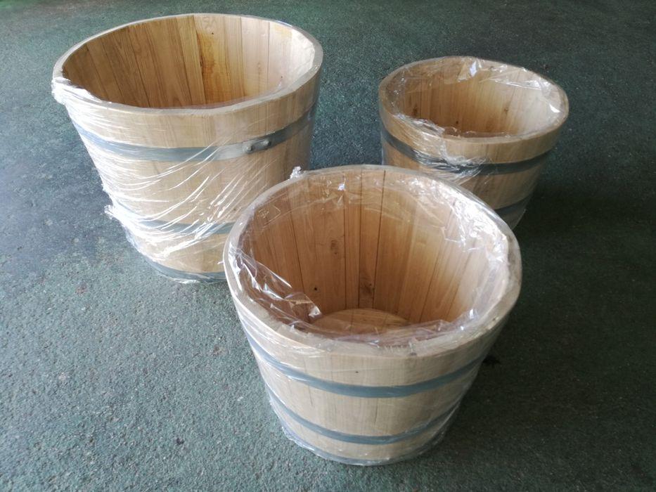 Vasos/Celhas de madeira Bougado (São Martinho E Santiago) - imagem 1