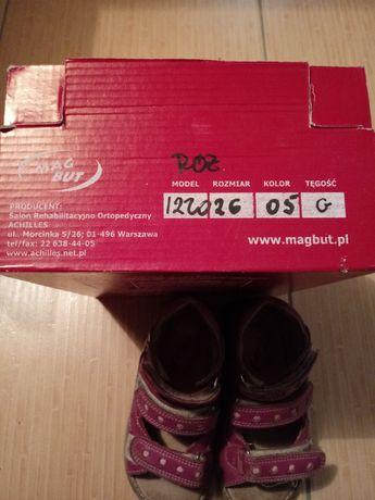 buty dziewczęce obuwie profilowane rozmiar 26 kolor rózowy