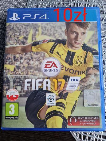 FIFA17 PS4 (płyta bez rysek)