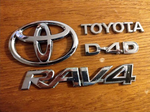 Emblemat Toyota Rava 4
