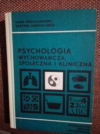 Psychologia Wychowawcza Społeczna i Kliniczna