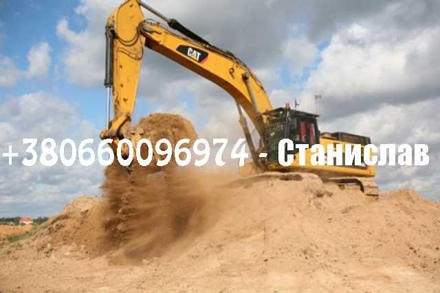Пісок, песок речной, песок овражный щебень, отсев, грунт НИЗКАЯ ЦЕНА