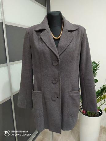 Kurtka płaszcz r.42 szary