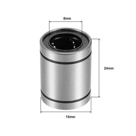 Rolamentos Linear 8mm LM8UU