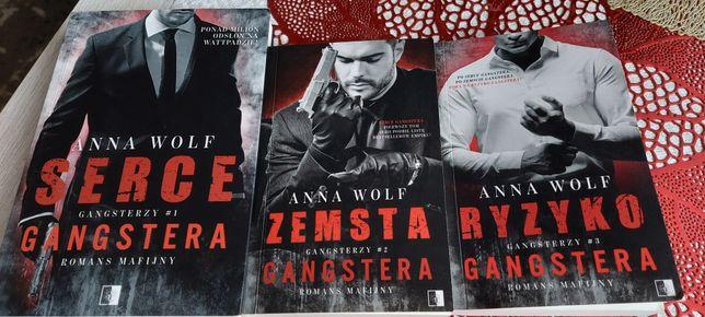 Anna Wolf 3 części Serce Gangstera , ryzyko Gangstera i zemsta Gangste
