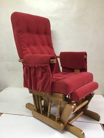 Rewelacyjny fotel bujany dla karmiącej mamy , prezent