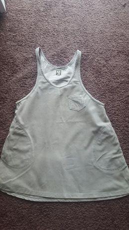Sukienka ciążowa ze sztruksu