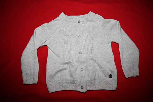 COCCODRILLO * Sweter sweterek szary JAK NOWY 92