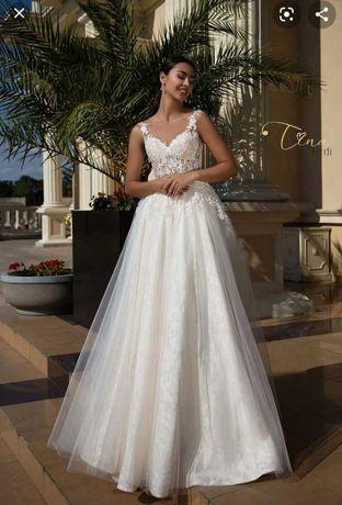 suknia ślubna Tina Valerdi model Isabel