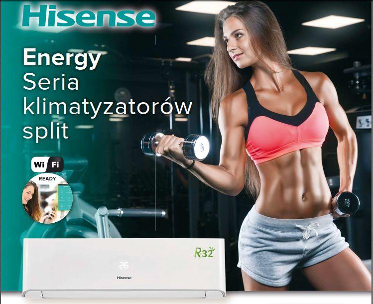 Klimatyzacja Hisense Energy AST18 5.0kW OD RĘKI! Dąbrowa Górnicza - image 1