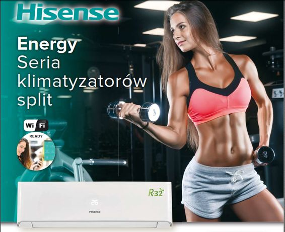 Klimatyzacja Hisense Energy AST18 5.0kW OD RĘKI!
