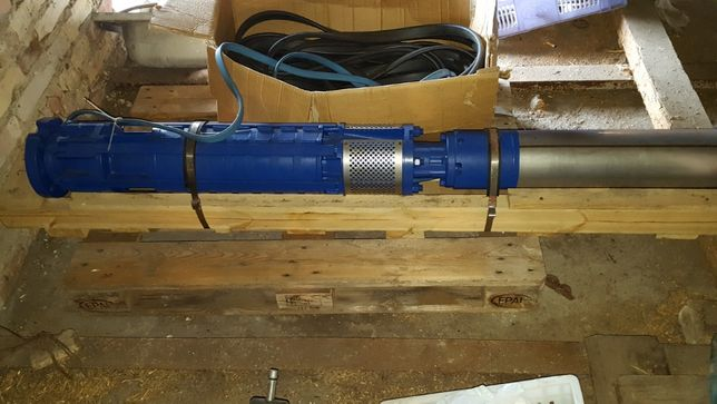 pompa głębinowa hydro-vacuum silnik 18'5KW 55000 Litry na godzinę