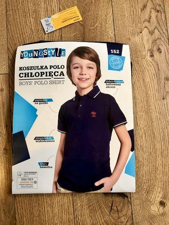 Koszulka POLO chłopięca roz.152 Nowa