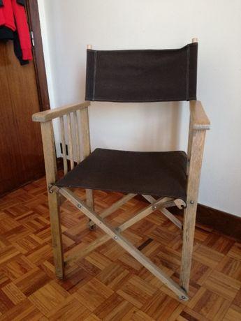 Cadeira de Lona para Jardim