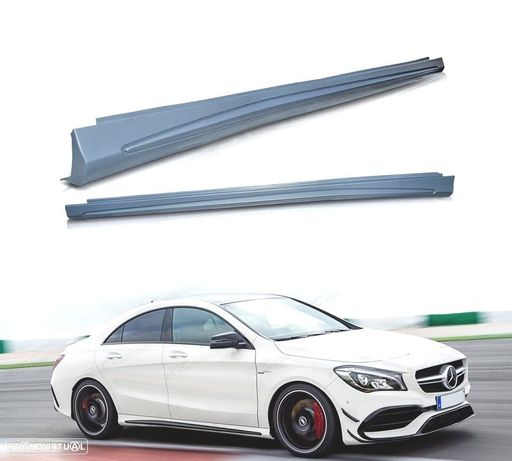 EMBALADEIRAS LATERAIS MERCEDES CLA W117 / CLASSE A W176 AMG STYLE